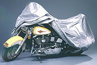 Covercraft CUSTOM-FIT Silver Urethane Motorcycle cover HARLEY-DAVIDSON Bikes without sissy bar or windshield XM155SU